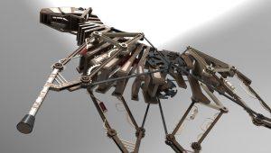 دانلود پروژه طراحی اسب مکانیکی (1)