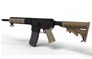 دانلود پروژه طراحی اسلحه AR-15 (1)