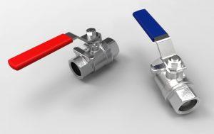 دانلود پروژه طراحی بال ولو Ball valve (شیر توپی)