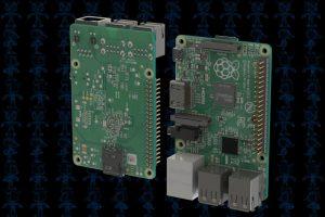دانلود پروژه طراحی برد رزبری پای Raspberry Pi Model B+