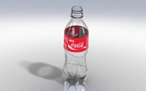 دانلود پروژه طراحی بطری پلاستیکی نوشابه کوکاکولا