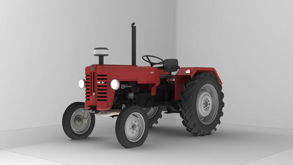 دانلود پروژه طراحی تراکتور مک کورمیک McCormick-D326 (2)