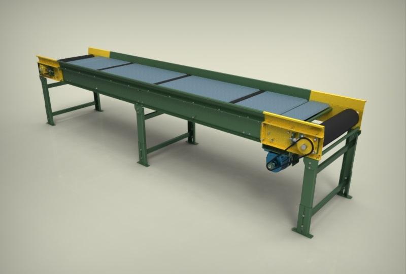 دانلود پروژه طراحی تسمه نقاله (conveyor belt)