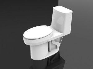 دانلود پروژه طراحی توالت فرنگی
