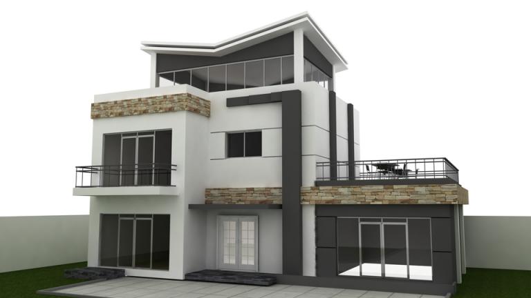 دانلود پروژه طراحی خارجی ساختمان (1)
