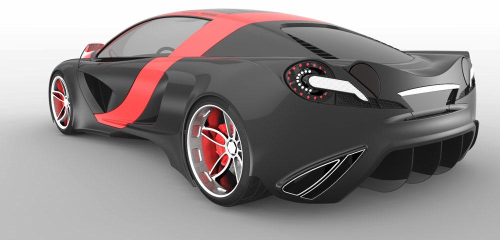 دانلود پروژه طراحی خودروی مفهومی (1)