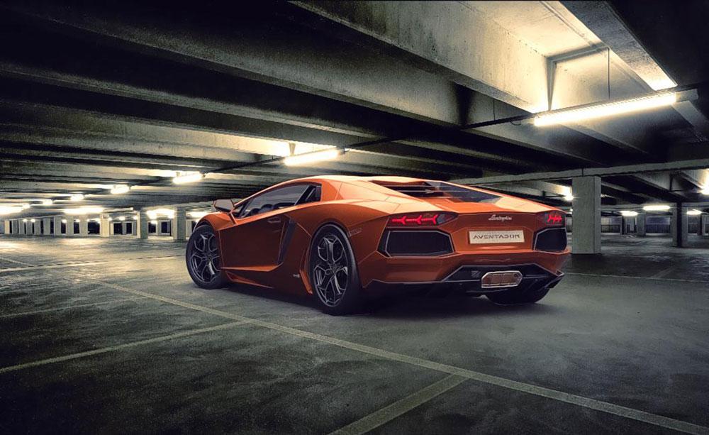 دانلود پروژه طراحی خودرو لامبورگینی اونتادور LP700 (1)