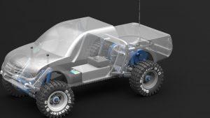 دانلود پروژه طراحی خودرو کنترلی باگی آفرود تامیا BUGGY OFF ROAD TAMIYA (2)