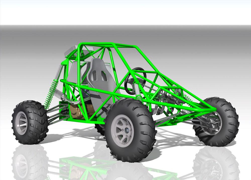 دانلود پروژه طراحی خودرو کیت باگی kit buggy 250cc (2)