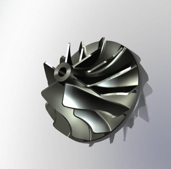 دانلود پروژه طراحی روتور توربین