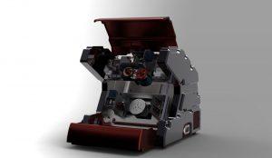 دانلود پروژه طراحی سی ان سی 5 محوره 5AXIS Desktop CNC