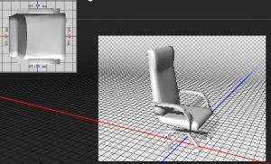 دانلود پروژه طراحی صندلی اداری