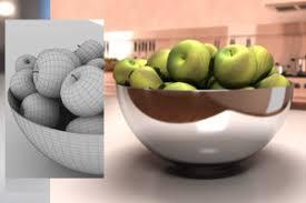 دانلود پروژه طراحی ظرف میوه خوری