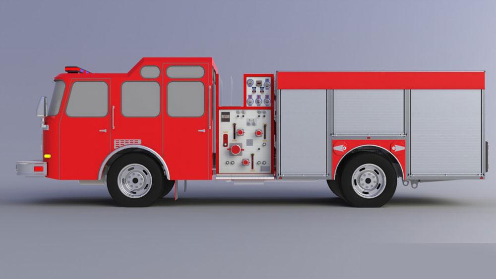 دانلود پروژه طراحی ماشین آتش نشانی (1)