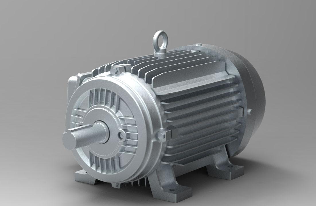 دانلود پروژه طراحی موتور الکتریکی 256T FRAME