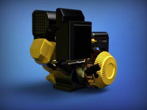دانلود پروژه طراحی موتور بریگز استراتون 10 اسب بخار Briggs & Stratton