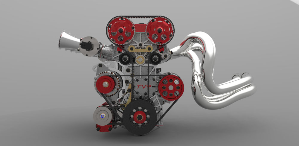 دانلود پروژه طراحی موتور خودرو 4 سیلندر 2 لیتری (2)