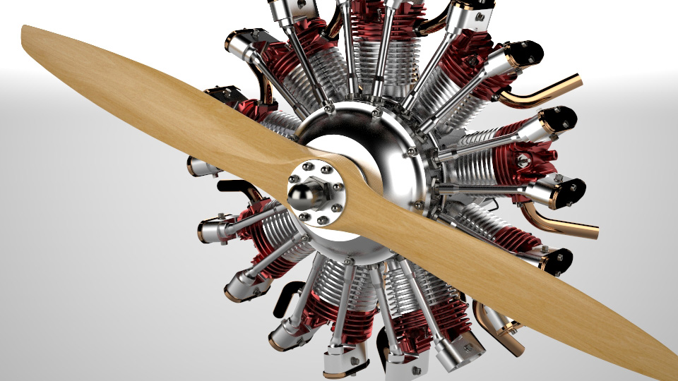 دانلود پروژه طراحی موتور شعاعی 9 سیلندر هواپیما+ملخ (1)