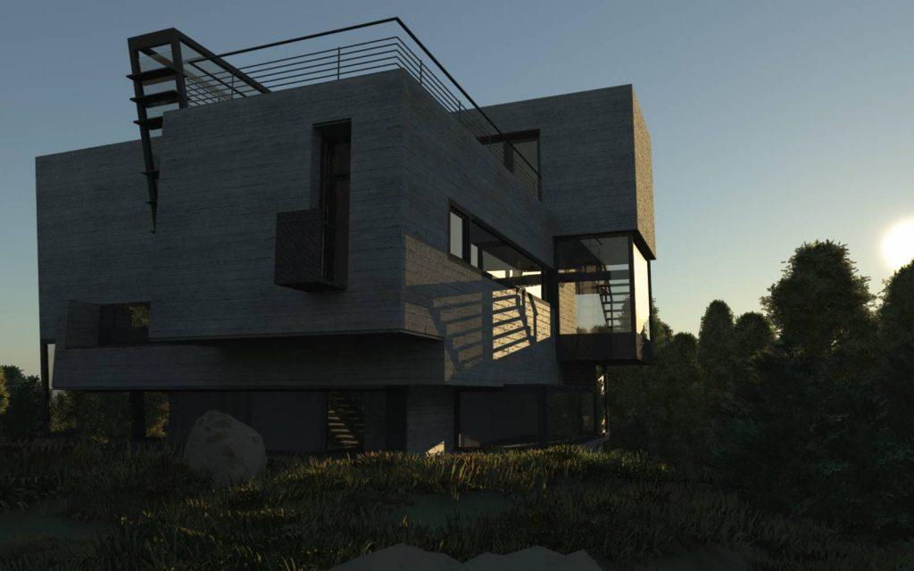 دانلود پروژه طراحی نقشه ویلا (4)
