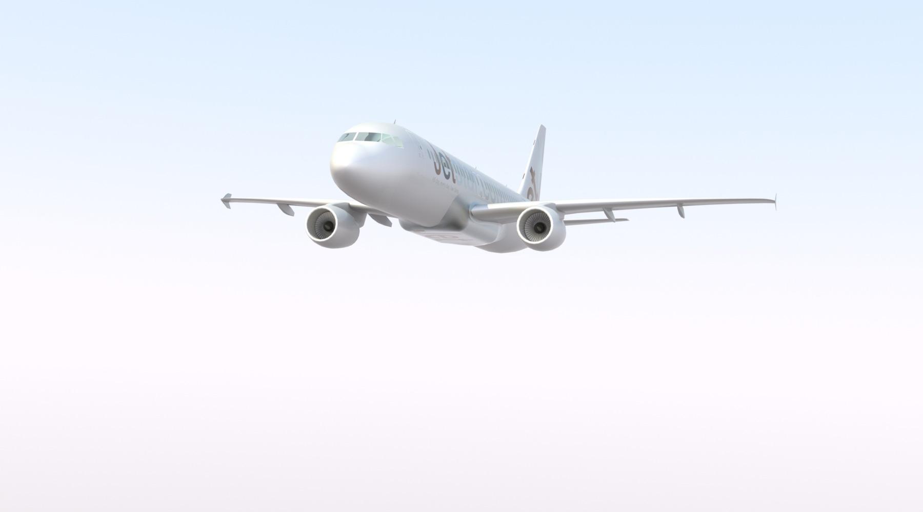 دانلود پروژه طراحی هواپیمای ایرباس A320