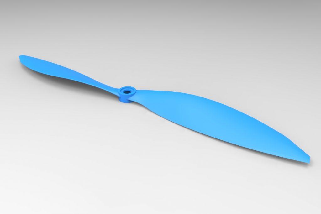 دانلود پروژه طراحی پروانه هواپیما (ملخ)