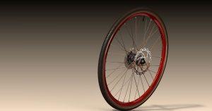 دانلود پروژه طراحی چرخ عقب دوچرخه