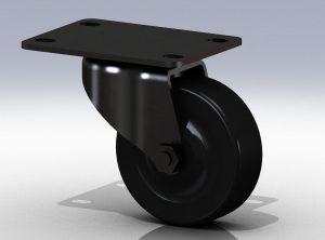 دانلود پروژه طراحی چرخ گردان Caster