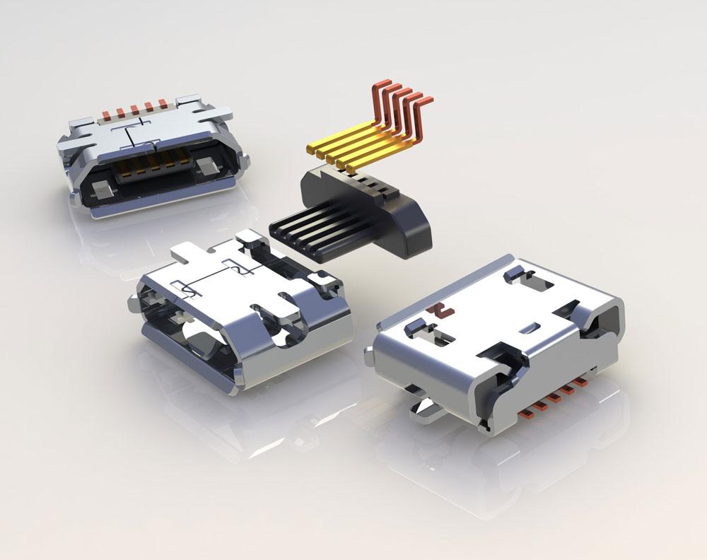 دانلود پروژه طراحی کانکتور میکرو یو اس بی Micro USB
