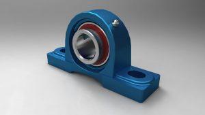 دانلود پروژه طراحی یاتاقان پیلو بلاک pillow block bearing