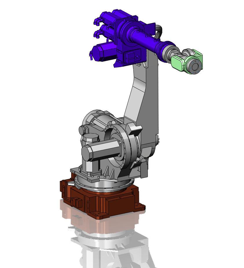طراحی ربات FANUC-430