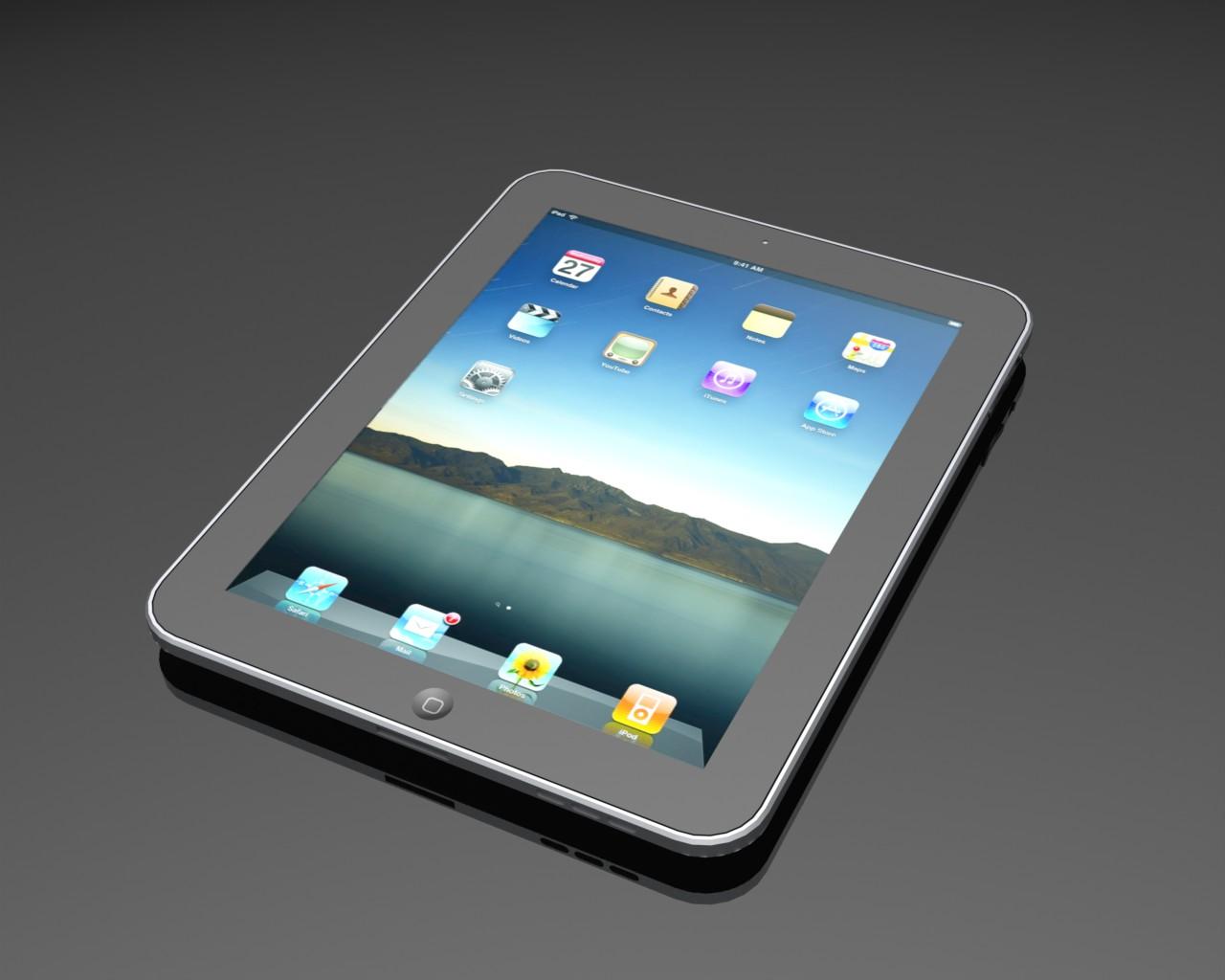 دانلود پروژه طراحی تبلت اپل آیپد