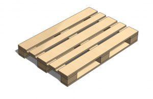 دانلود پروژه طراحی تخته پالت چوبی یورو