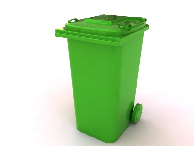دانلود پروژه طراحی سطل زباله چرخ دار شهری