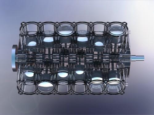 دانلود پروژه طراحی موتور خودرو 12 سیلندر وی شکل v12 engine (2)