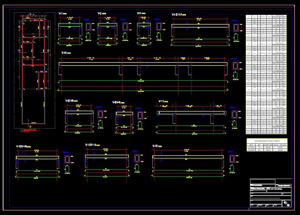 دانلود پروژه طراحی نقشه و پلان خانه ویلایی 5 در 22 متر بالکن دار (9)