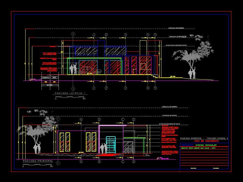 دانلود پروژه طراحی نقشه و پلان خانه ویلایی (5)