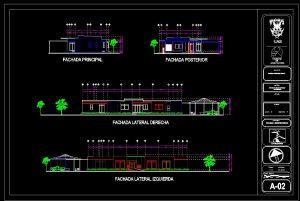 دانلود پروژه طراحی نقشه و پلان خانه کلبه چوبی + نقشه لوله و برق کشی