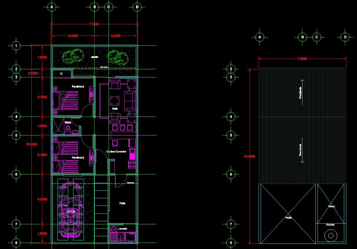 دانلود پروژه طراحی نقشه و پلان ویلا (3)