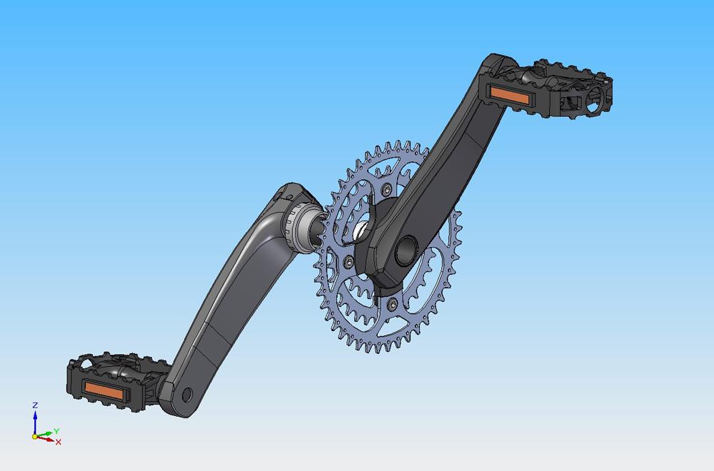 دانلود پروژه طراحی پدال دوچرخه