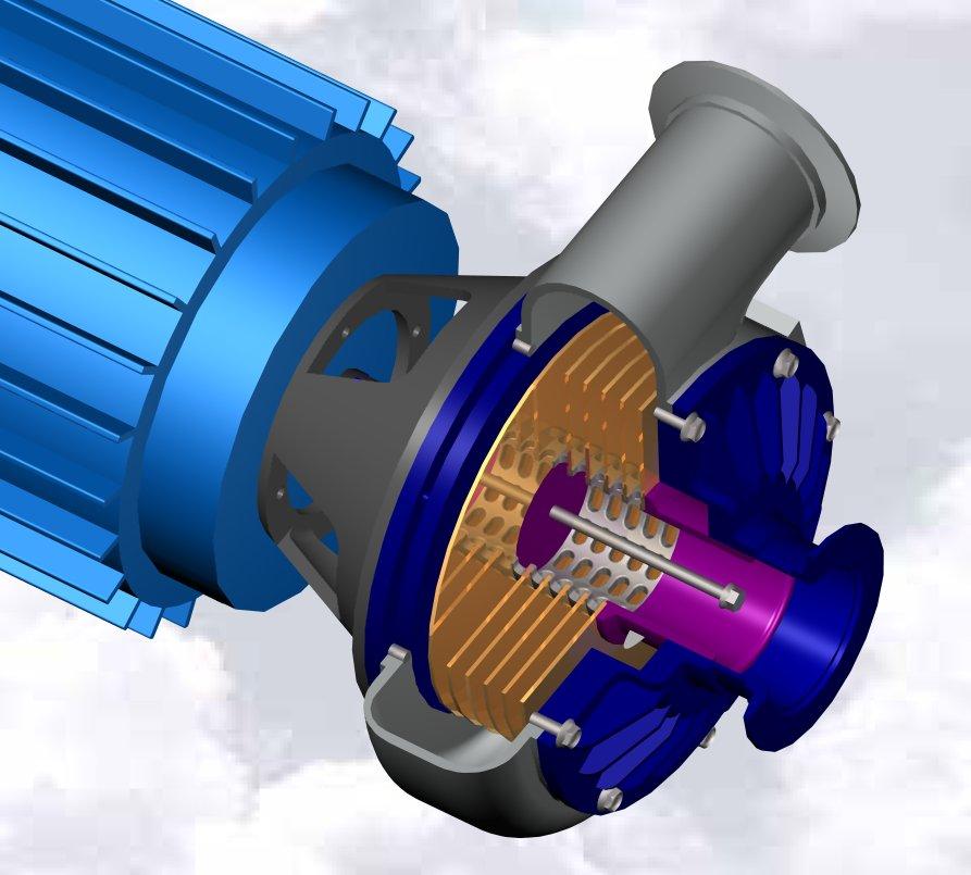 دانلود پروژه طراحی پمپ توربین تسلا Tesla Turbine Pump