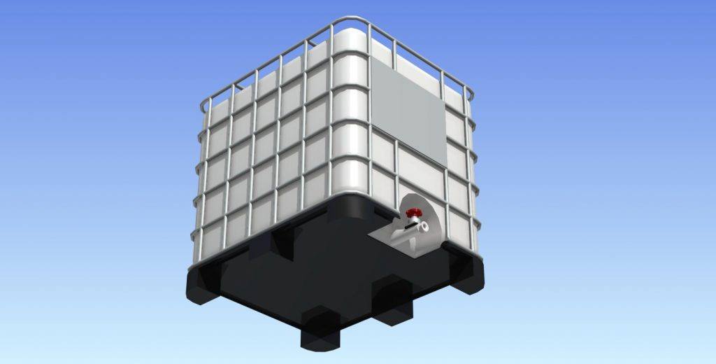 دانلود پروژه طراحی مخزن مکعبی پلاستیکی 1000 لیتری (تانکر پلی اتیلن) (2)