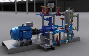 دانلود پروژه طراحی کمپرسور ایستگاه تقویت فشار و انتقال گاز