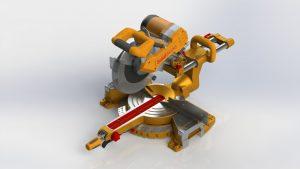 دانلود پروژه طراحی اره تاجی میتر Miter Saw (1)