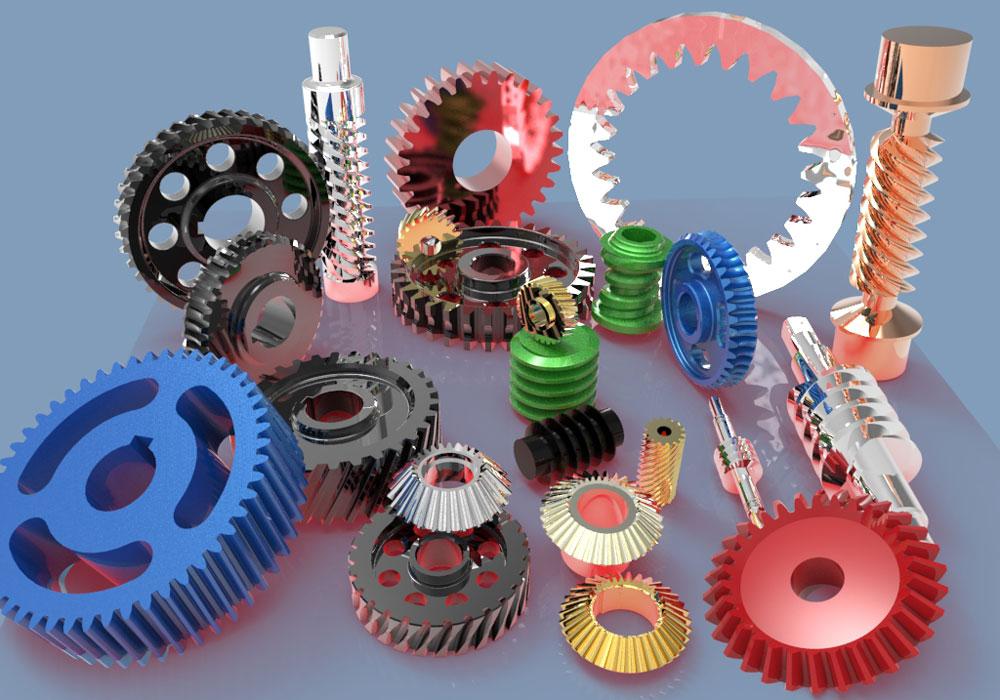 دانلود پروژه طراحی انواع چرخ دنده