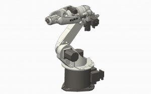 دانلود پروژه طراحی بازوی رباتیک صنعتی کوکا