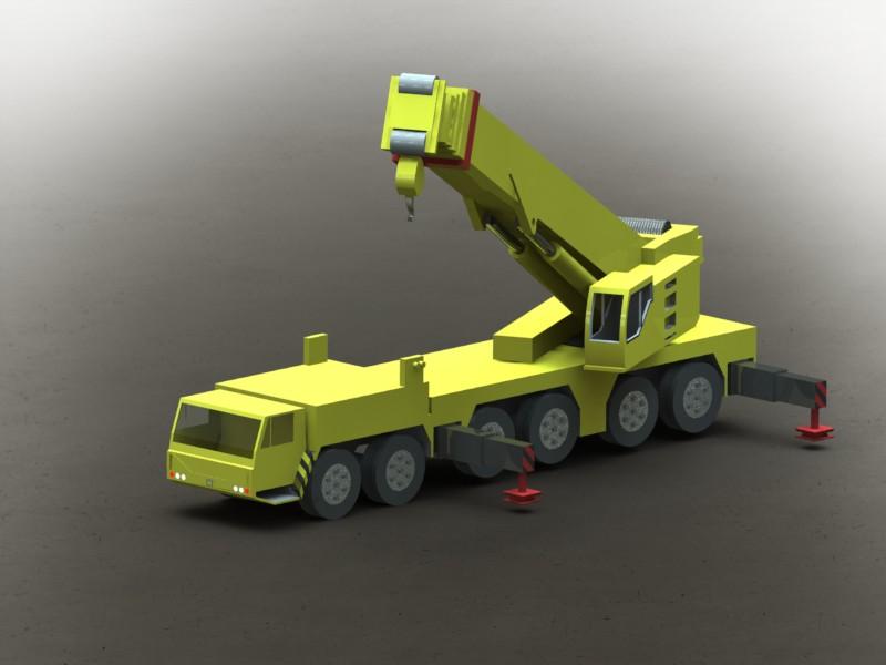 دانلود پروژه طراحی جرثقيل موبايل لیبهر (Liebherr Mobile Crane LTM 1250) (2)