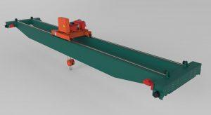 دانلود پروژه طراحی جرثقیل پلی (سقفی) (1)