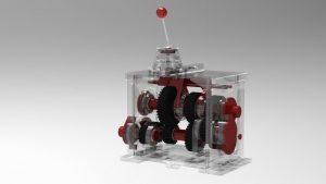 دانلود پروژه طراحی جعبه دنده پرینت سه بعدی (2)
