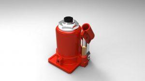 دانلود پروژه طراحی جک هیدرولیک Hydraulic Jack
