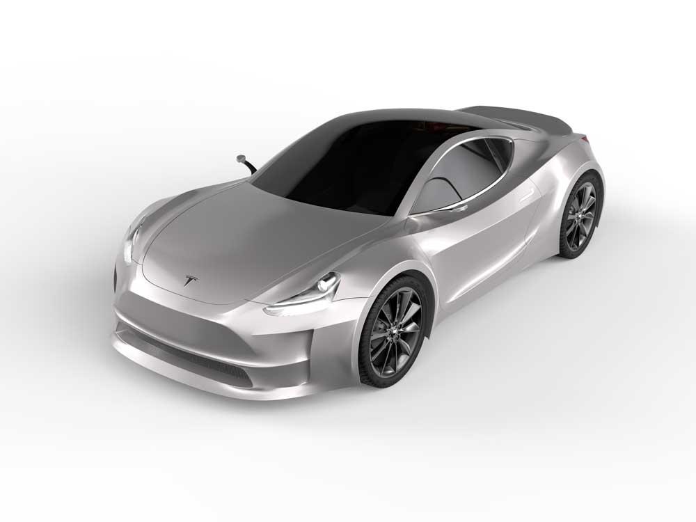 دانلود پروژه طراحی خودرو تسلا مدل آر Tesla Model R (3)